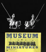 Museum Miniatures 15mm Medieval MD20 French Continental Men at Arms (x 4)